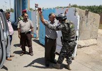 Проверки на блокпосту в Багдаде