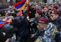 Протесты против вступления Армении в Таможенный союз в Ереване