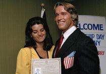 Арнольд Шварцнеггер получил американское гражданство