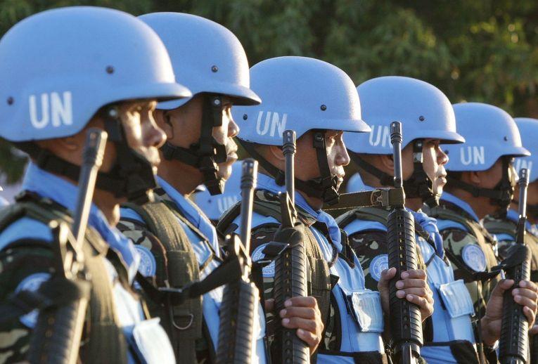 Солдаты миротворческой миссии ООН на Филиппинах