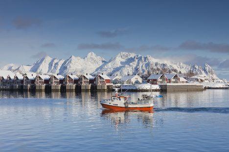 Рыбная ловля в Норвегии