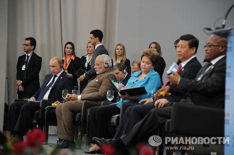 Подписание документов по итогам VI саммита стран БРИКС