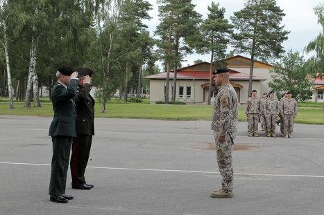 Визит Военного комитета НАТО в Латвию