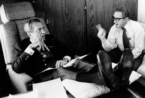 Генри Киссинджер и Ричард Никсон