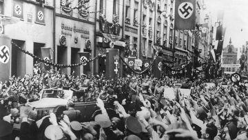 Данциг (Гданьск) приветствует Гитлера, 19 сентября 1939 года