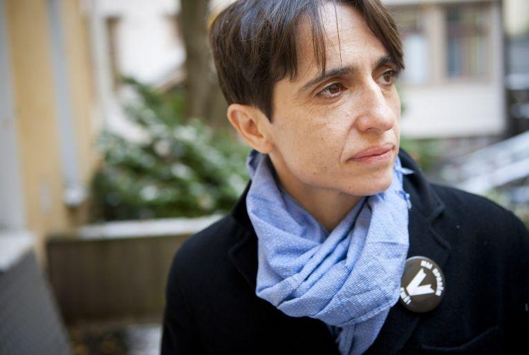 Журналистка Маша Гессен