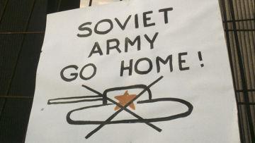 """""""Советская Армия, иди домой!"""""""