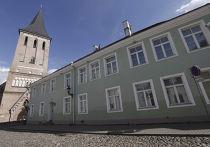 Здание эстонской полиции безопасности (КАПО), из которого был похищен сотрудник Эстон Кохвер