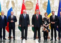 Встреча глав государств Таможенного союза с президентом Украины и представителями Европейской комиссии