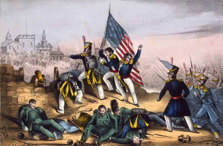 Бой за Чапультепек, Американо-мексиканская война