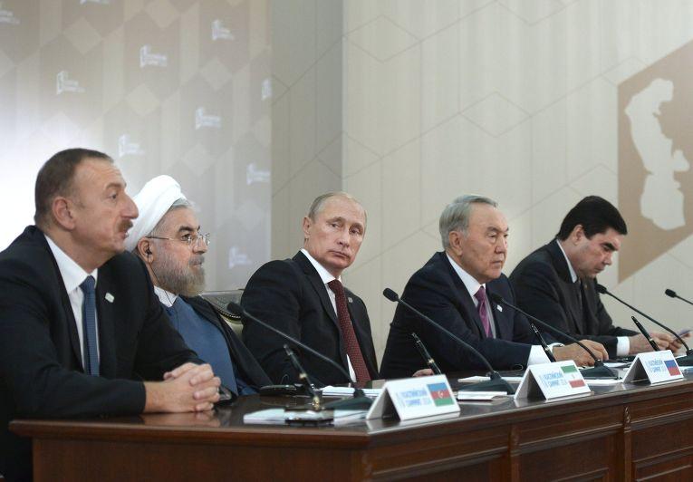 Четвертый Каспийский саммит в Астрахани
