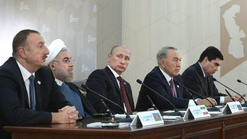 Каспийский «квинтет» против США
