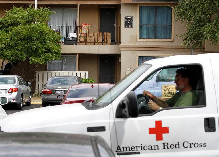 Дом в Далласе, где проживал заболевший лихорадкой Эбола либериец Томас Эрик Дункан