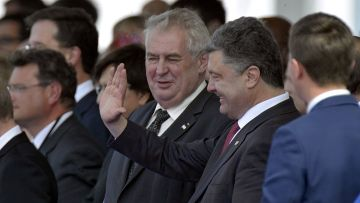 Земан пригрозил заменить посла на Украине