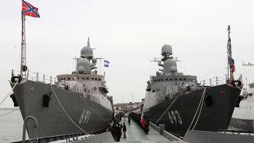 Новейшие гиганты российского флота