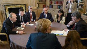 Путин и Порошенко: перемирие в Донбассе и поставки газа