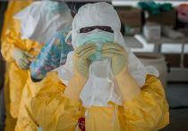 Сотрудники организации «Врачи без границ» в центре по лечению Эболы в Монровии
