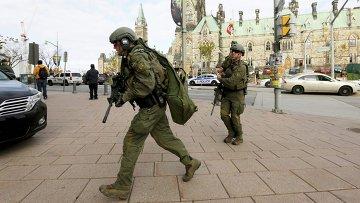 Стрельба в Оттаве: день хаоса