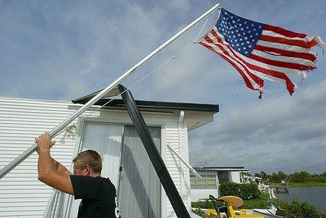 Последствия урагана Чарли во Флориде