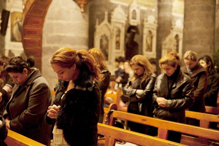 Католическая церковь в Дамаске