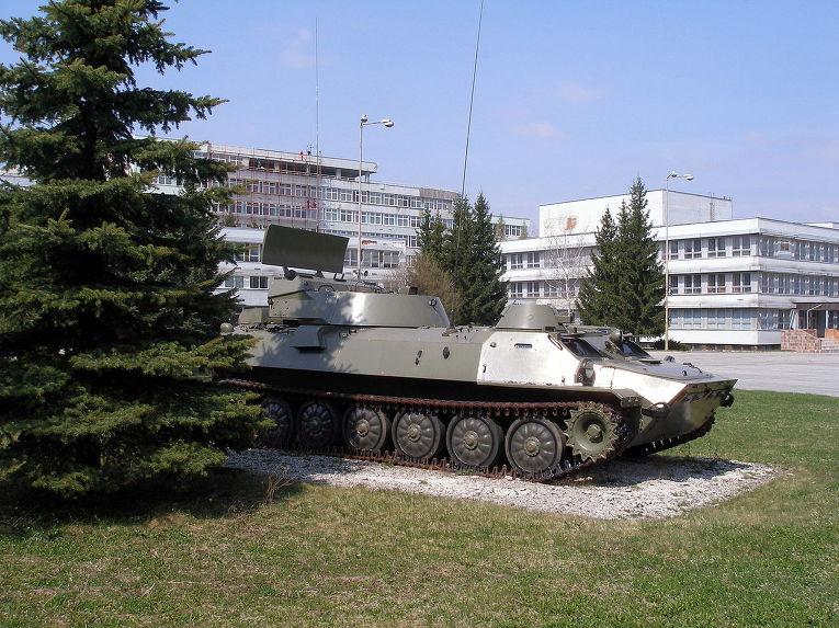 Станция наземной артиллерийской разведки 1РЛ232 «Леопард»