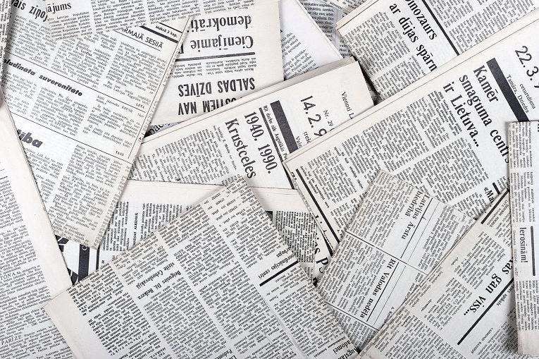 Латвийские газеты
