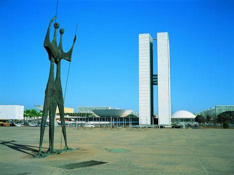 Скульптуры в Бразилиа