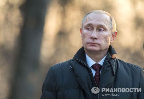 Владимир Путин принял участие в церемонии открытия памятника Александру I