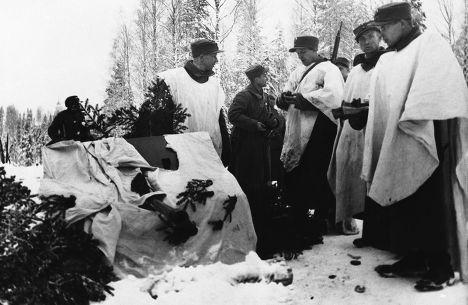 Финский дивизион легкой артиллерии на Карельском перешейке
