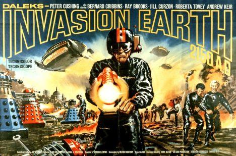 Кадр из фильма «Вторжение Далеков на Землю»