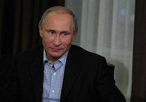 В.Путин дал интервью информационному агентству ТАСС