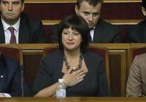 Новый министр экономики Украины Наталия Яресько