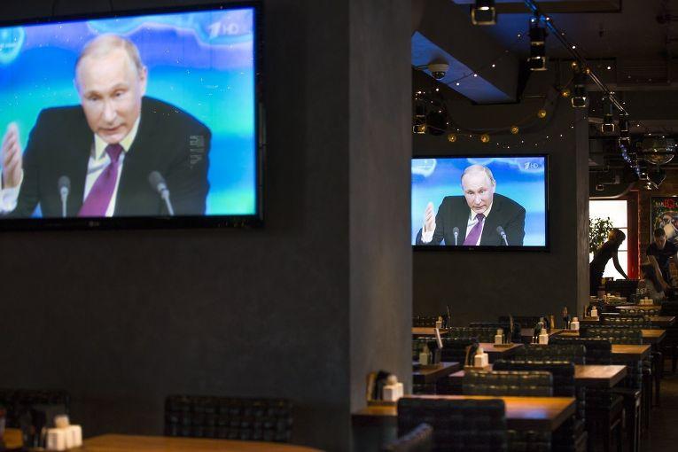 Ежегодная большая пресс-конференция Владимира Путина