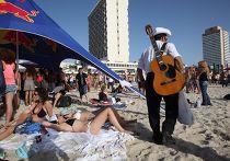 Пляж в Тель-Авиве