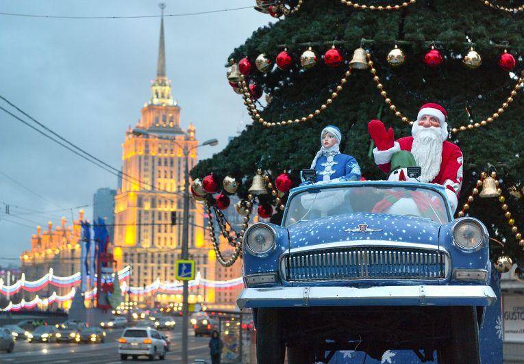 Новогодние инсталяции в Москве