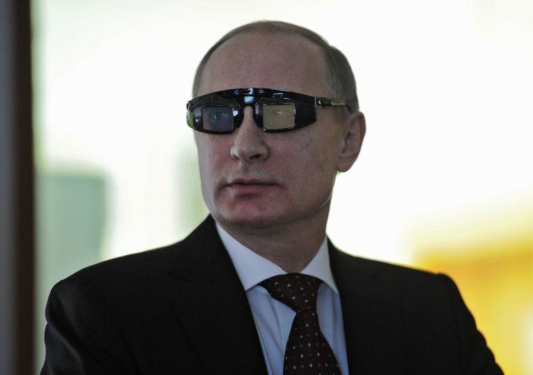 Владимир Путин в Национальном минерально-сырьевом университете «Горный» в Санкт-Петербурге