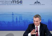 Генеральный секретарь НАТО Йенс Столтенберг на Мюнхенской конференции, 7 февраля 2015