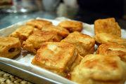 Новогодний пирог из клейкой рисовой муки (Няньгао)
