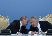 Владимир Путин и Нурсултан Назарбаев на заседании XI Форума межрегионального сотрудничества России и Казахстана