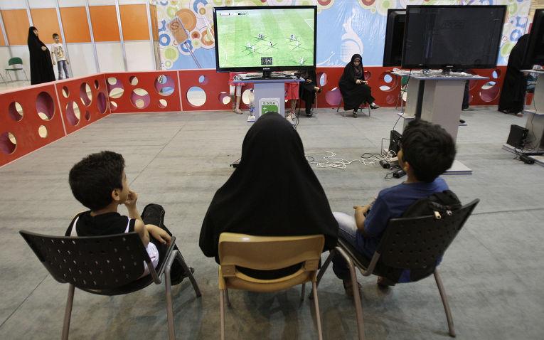 Выставка компьютерных игр в Тегеране