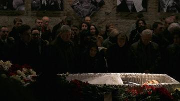 Прощание с Борисом Немцовым в Москве