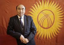 Президент Киргизии Аскар Акаев, 1992 год