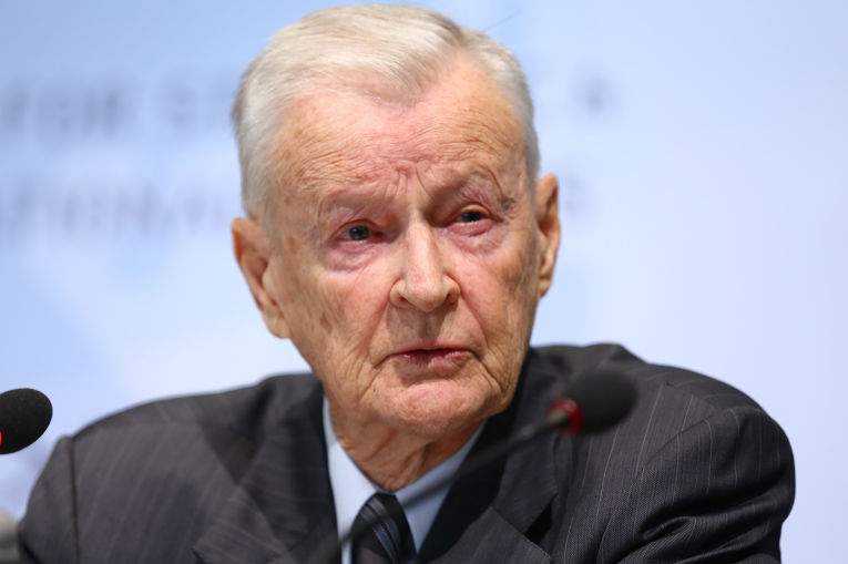 Американский политолог Збигнев Бжезинский