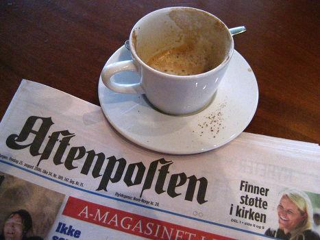 Норвежская газеа Aftenposten