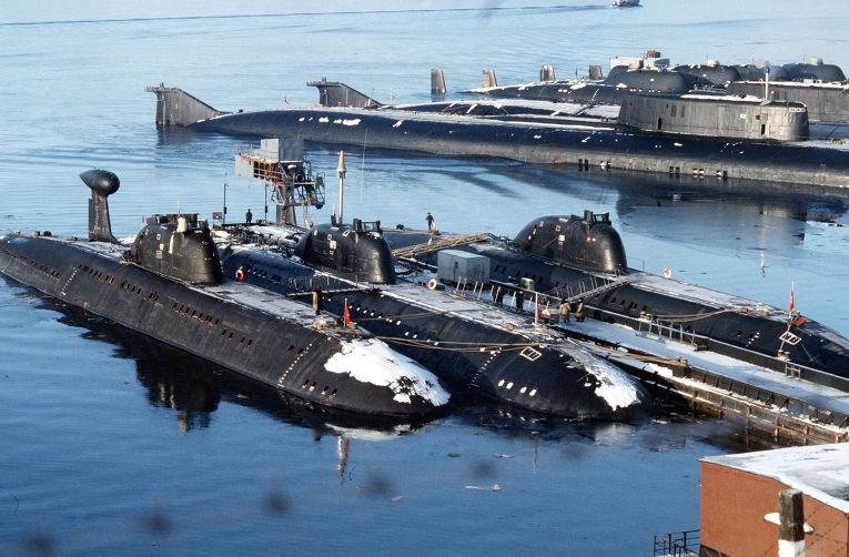 северный флот фото подводных лодок