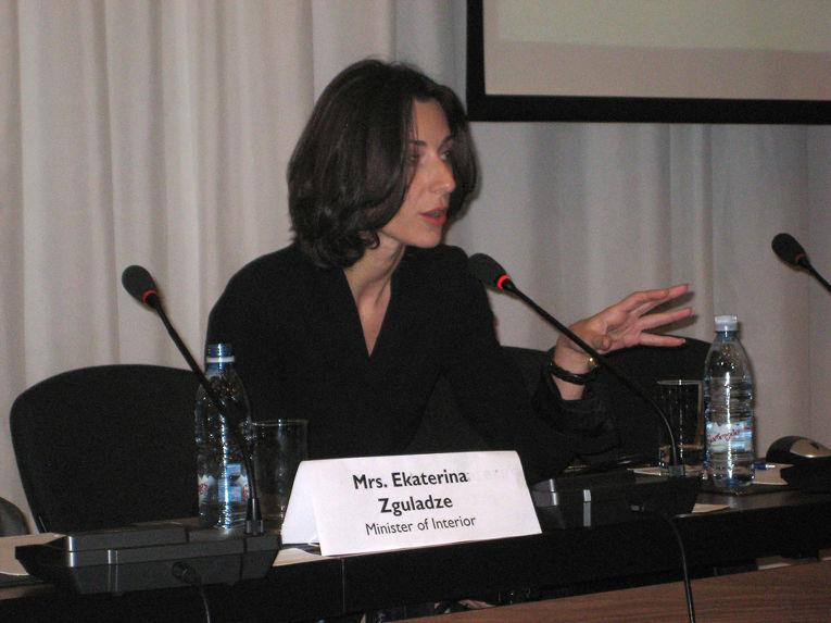 Первый заместитель министра внутренних дел Украины Эка Згуладзе