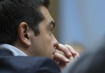 Премьер-министр Греции Алексис Ципрас во время визита в Москву
