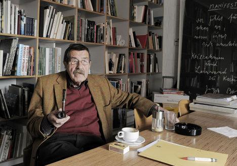 Немецкий писатель Гюнтер Грасс