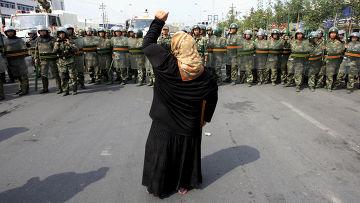 Столкновения жителей Синьцзян-Уйгурского автономного района с полицией