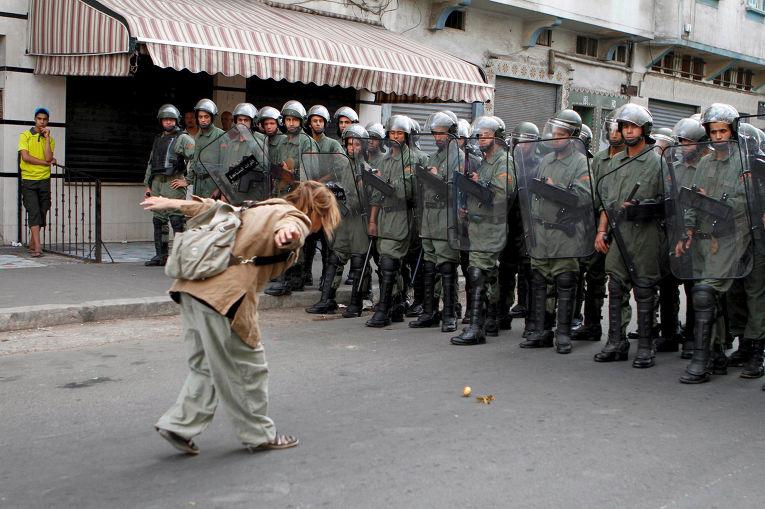 Протесты движения «20 февраля» в Касабланке